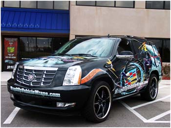Wrap It Up! Vehicle Wraps Escalade