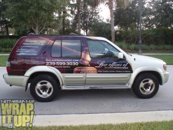Partial SUV Wrap